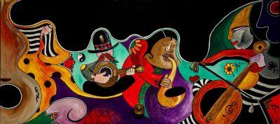 """""""Τα χρώματα της μουσικής"""" by ADD My View"""