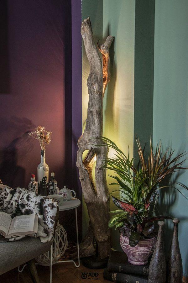 Φωτιστικό από κορμούς δέντρων από το ADDMyView